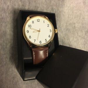 Brown watch!